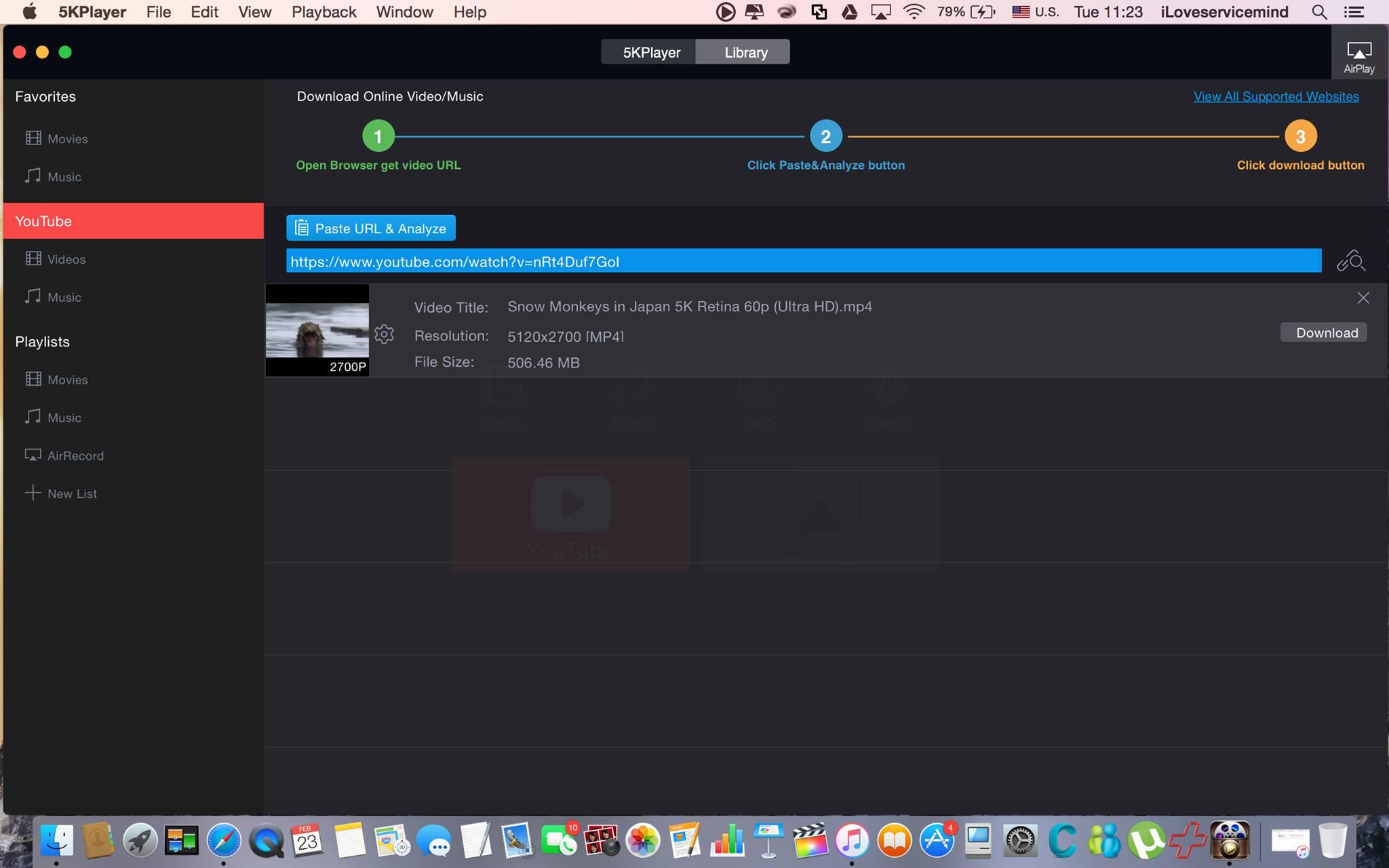 ฟรี !! 5KPlayer โปรแกรมเปิด ไฟล์ VDO 5K รองรับ บน Mac / Windows